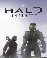 HALO INFINITE  POSTER  OFFICIAL by TOA316XDNUI-OFFICIAL