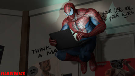 SPIDER MAN look by TOA316XDNUI-OFFICIAL