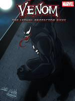 VENOM THE LETHAL PROTECTOR RISES  (MY FIRST COVER by TOA316XDNUI-OFFICIAL