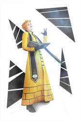 Bill Cipher priest by Prince-Lelouch