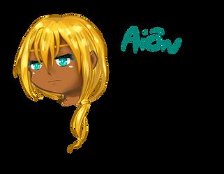 Chibi head. Aion by SalaniaNeko