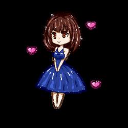 Pixel Art. Little hearts by SalaniaNeko