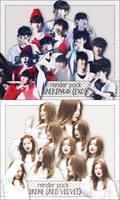 PACK PNG BAEKHYUN AND IRENE by victorhwang