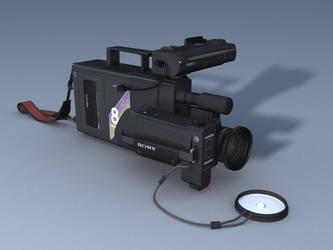 Video 8 camera by Psistorm