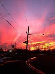 Sunset 1/31/16 II by AdamChristopherRudd