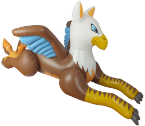 Inflatable IW.de Gryphon by TigerDragon85