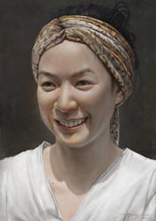 A portrait of Four Sakolrat by TheRafa