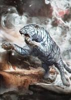 White Tiger by TheRafa