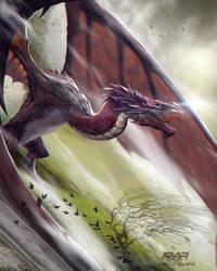 Wind Dragon by TheRafa