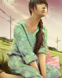 Cute girl inspiration by TheRafa