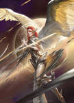 The Angel by TheRafa