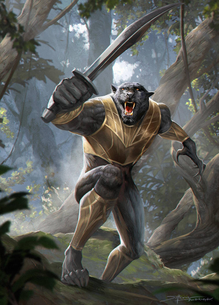 Black Panther by TheRafa