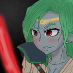 Jedi Master Amira [Request] by Yourallmines