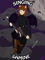 Magical Bat Bard Samine! by Yourallmines