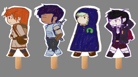 Let's Go Together ED PaperDolls by Yourallmines