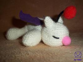 Derpy moogle amigurumi by VilDeviant
