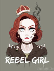 Rebel Girl by Sutexii