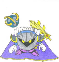 Meta Knight by hesnotdead