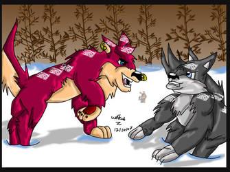 -Contest- Battle  broken by wolfcub