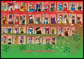 -G-  Christmas 2008 by wolfcub