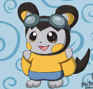 Me as an Emolga by Pikachu25sci95vt