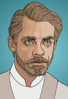 Luke Skywalker - Star Wars: The New Republic by Elayem