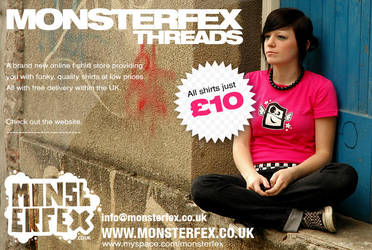 Monsterfex Poster 1 by SuperFex
