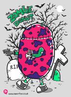 Zombie Donut by SuperFex