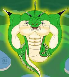 The Namekian Dragon (DBZ Fanart) by Hurricane-Rising