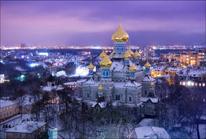 Pokrovskiy monastery by Levshev