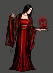 Chinese woman by endzi-z