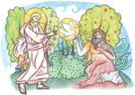 Genesis 2:7-9 by Parastos