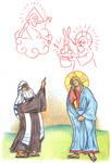 Mark 8:11-12 by Parastos
