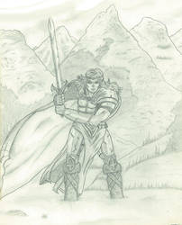 Warrior's trial.. by Amaniwolf
