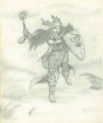 Wrath of a Priestess by Amaniwolf