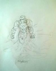 Iron man by Fgomesoliveira