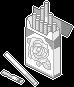 [Monochrome] Cigarettes by King-Lulu-Deer