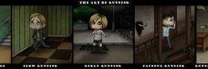 The art of running by ReachFarHigh