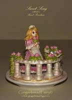 Sweet Song. Gingerbread figurine by GingerbreadFairy