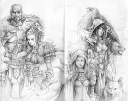Sketch Diablo 3 by Prywinko