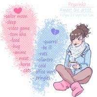 #Meet the artist by Prywinko