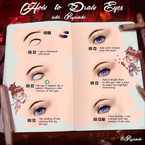 Eyes Tutorial by Prywinko