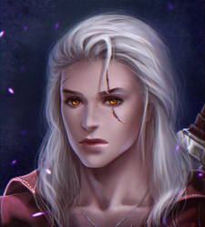 Young Geralt by Prywinko