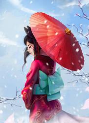 Snow by Prywinko