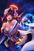 Ahri (Mercy Cosplay) by Prywinko