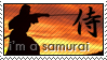 I'm a Samurai stamp by Gezusfreek