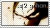 SSJ2 Gohan stamp by Gezusfreek