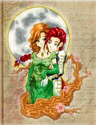 Commission: Zelos and Jen by Gezusfreek