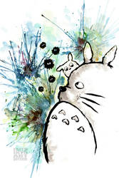 My Neighbor Totoro by Gezusfreek