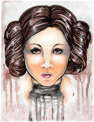 Princess Leia by Gezusfreek